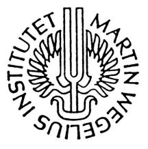Martin Wegelius Institute