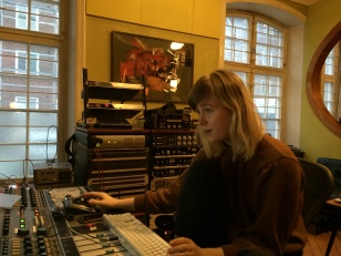 Recording engineer Julia, Tambourine Studios